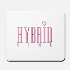 Hybrid Girl Heart Mousepad