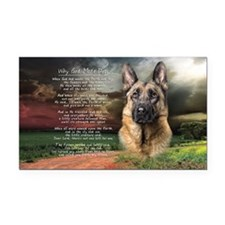 godmadedogs(license) Rectangle Car Magnet