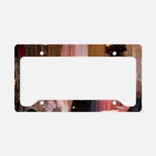 Vintage women's clothing in t License Plate Holder