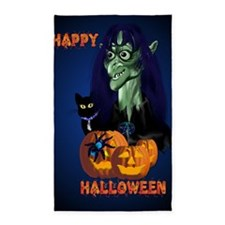 LargePoster Green Witch - Happy Hal 3'x5' Area Rug