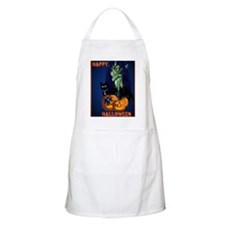 LargePoster Green Witch - Happy Halloween Apron
