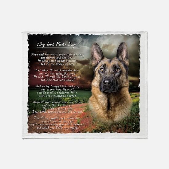 godmadedogs2 Throw Blanket