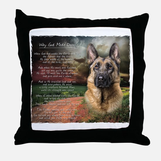 godmadedogs2 Throw Pillow