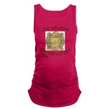 4th Bn 9th Infantry cap4 Maternity Tank Top