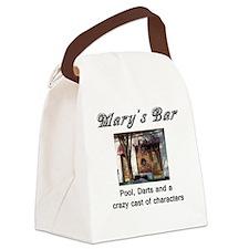 Marys Bar-front-lt Canvas Lunch Bag