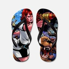 space-girl-color2 high-res Flip Flops