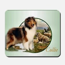 collie with sheep adjusted 6 Mousepad