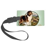 Rough collie Luggage Tags