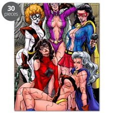 babes-pin-up-color 2 Puzzle