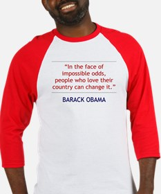Obama: People Who Love Their Country BBall Jersey