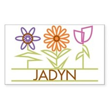 JADYN-cute-flowers Decal
