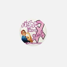 fightlikeagirl Mini Button