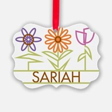 SARIAH-cute-flowers Ornament