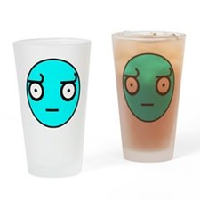 smiley-look_of_disapproval3 Drinking Glass