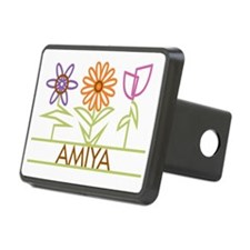 AMIYA-cute-flowers Hitch Cover