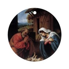 nativity2 Round Ornament