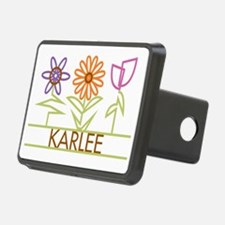 KARLEE-cute-flowers Hitch Cover