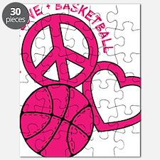 P,L,Basketball, melon Puzzle