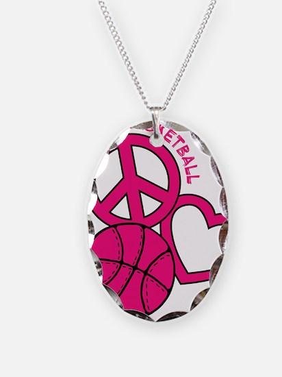 P,L,Basketball, melon Necklace