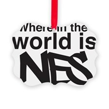 Where Is Nes? Ornament
