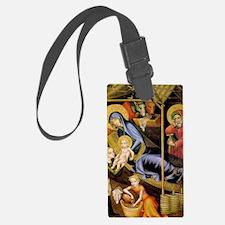 nativity6 Luggage Tag