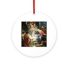 nativity4 Round Ornament
