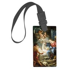 nativity4 Luggage Tag