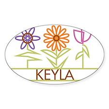 KEYLA-cute-flowers Decal