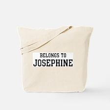 Belongs to Josephine Tote Bag