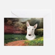 godmadedogs(oval) Greeting Card
