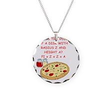 math pizza joke Necklace