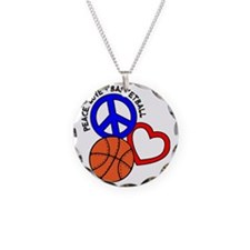 P,L,Basketball, multi Necklace