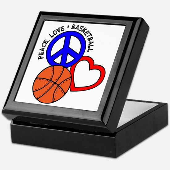 P,L,Basketball, multi Keepsake Box