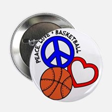 "P,L,Basketball, multi 2.25"" Button"