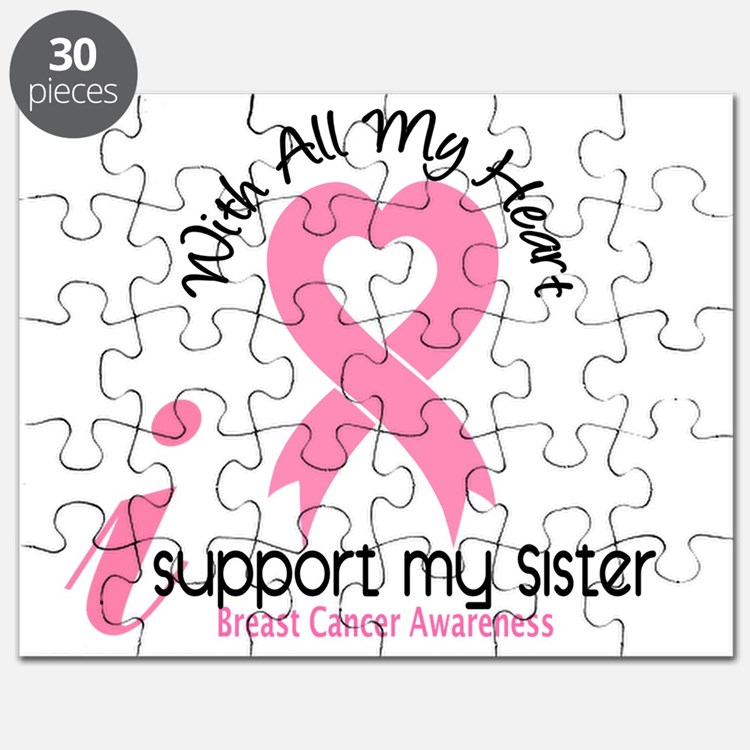 - Support My Sister Breast Cancer Puzzle