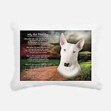 godmadedogs(laptop) Rectangular Canvas Pillow