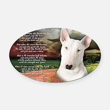 godmadedogs(laptop) Oval Car Magnet