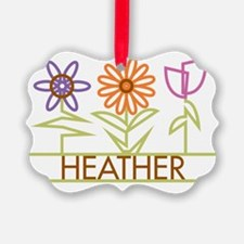 HEATHER-cute-flowers Ornament