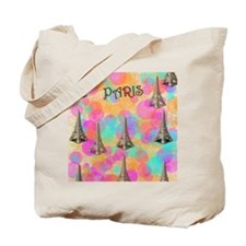 Paris_flip_flops Tote Bag