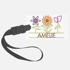 AMELIE-cute-flowers Luggage Tag