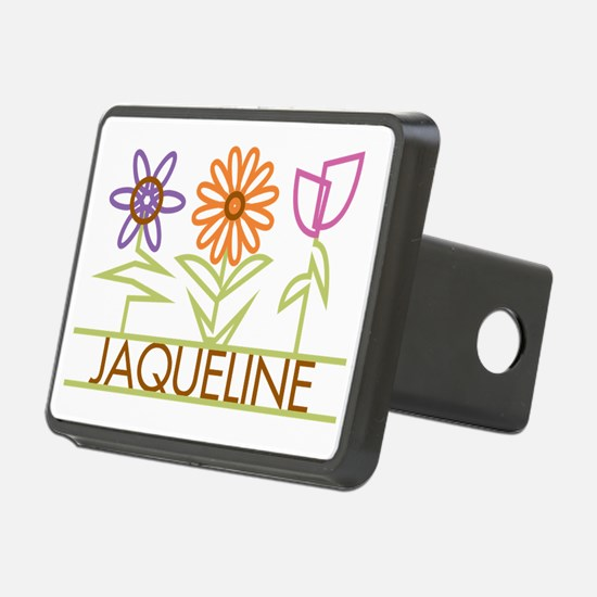 JAQUELINE-cute-flowers Hitch Cover