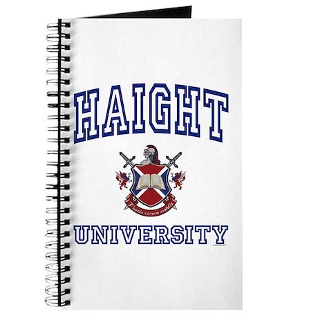 HAIGHT University Journal