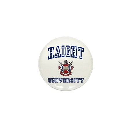 HAIGHT University Mini Button