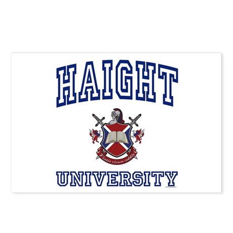 HAIGHT University Postcards (Package of 8)