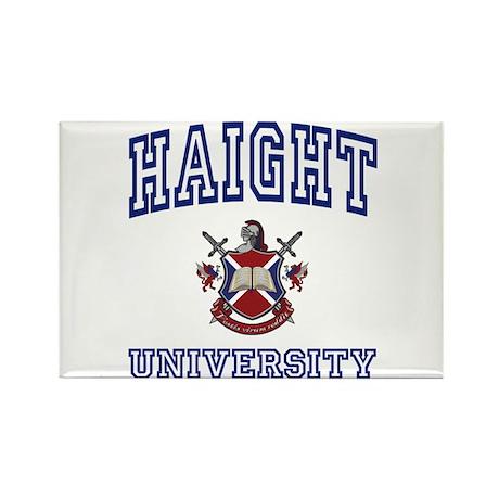 HAIGHT University Rectangle Magnet