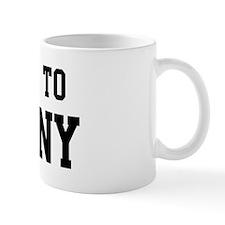 Belongs to Melany Coffee Mug