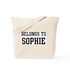 Belongs to Sophie Tote Bag