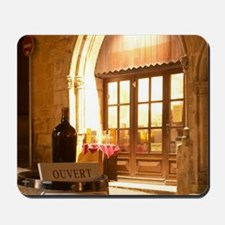 Cobble stone street in the old town with Mousepad