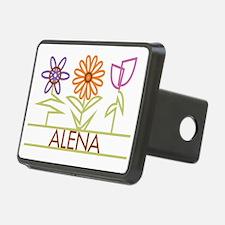 ALENA-cute-flowers Hitch Cover