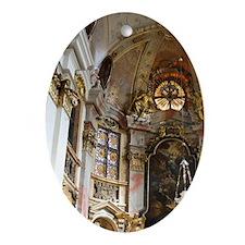 Wachau Valley Oval Ornament
